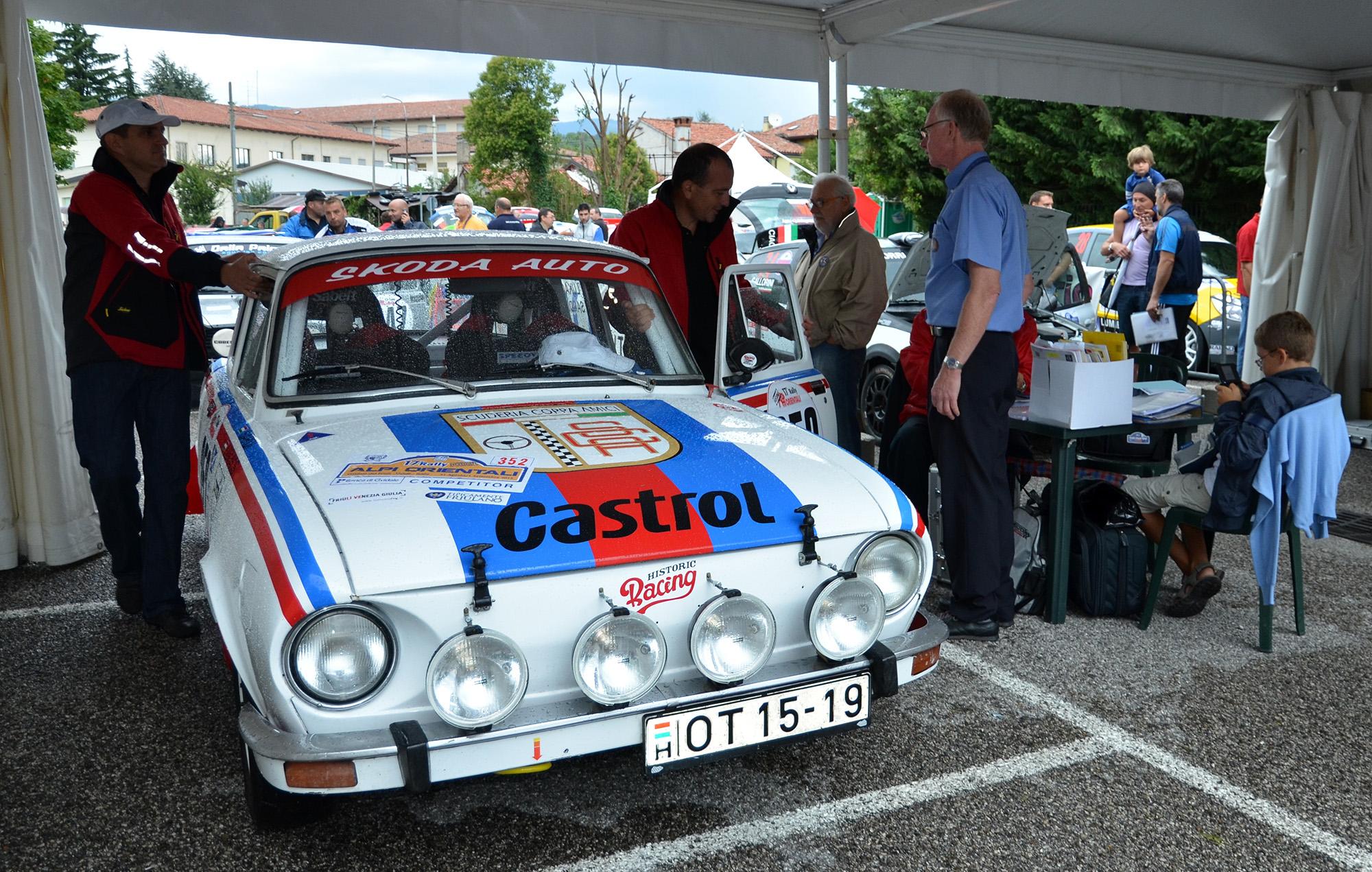 Alpi átvétel FIA